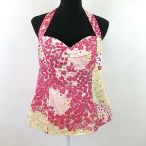 Lily Pulitzer Strawberry Halter Top